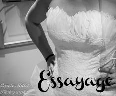 Essayage de LA robe de mariée …